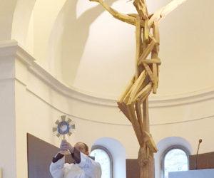 Klanjanje pred Presvetim, 26. 3. 2020. – crkva sv. Ante